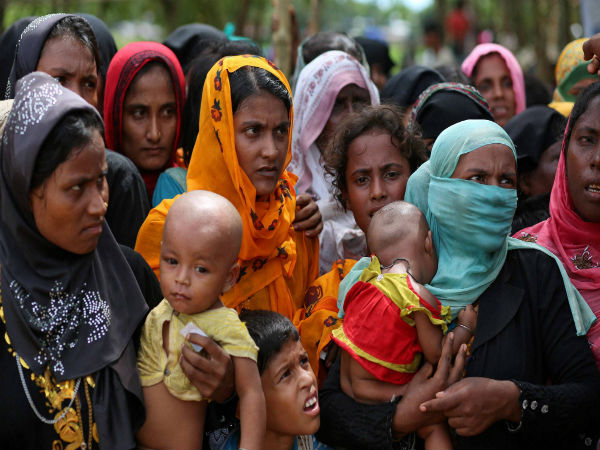 Queen Of Jordan Visits Rohingya Camp, Condemns Violence