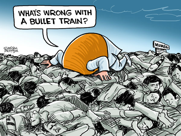 Should the government first revamp the railways or introduce the bullet train?
