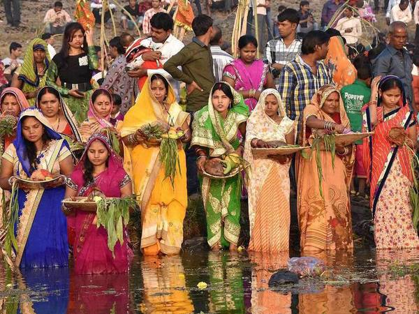 The Chhath Puja is performed to thank Sun for bestowing the bounties of life on earth and to request the granting of certain wishes. PTI file photo