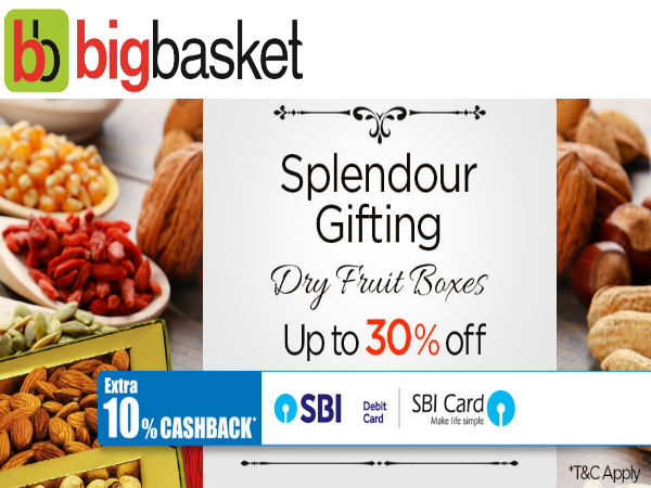 Gift Diwali Sweet Packs via Bigbasket - Get Upto 50% Off* #EasyWaliDiwali