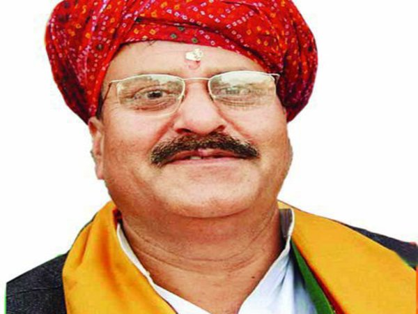 BJP leader and former Rajasthan minister Digamber Singh