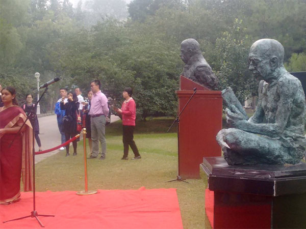 Indian Embassy in China commemorates Gandhi's 148 birth anniversary File photo