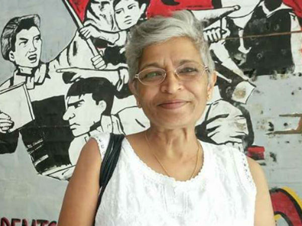Journalist Gauri Lankesh