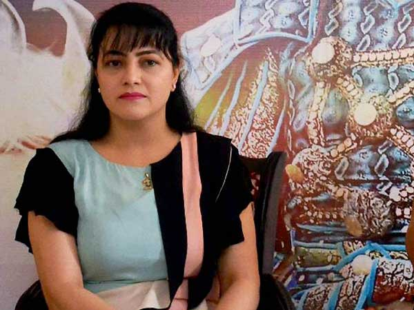 Can't my father Ram Rahim touch me lovingly asks Honeypreet Insan