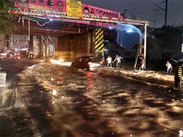 MET warns GHMC about Flood alert in Hyderabad