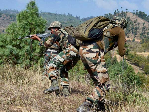 2 anti India rebels, civilian killed during Kashmir fighting