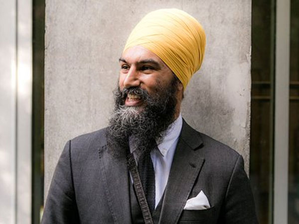 Jagmeet Singh, New Democratic Party leader. Courtesy: www.ndp.ca