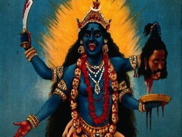 people in West Bengal, Orissa and Assam worship Goddess Kali on new moon day, the most important day of Diwali.