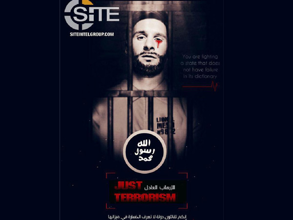 Latest ISIS propaganda: Barcelona's Lionel Messi cries tear of blood behind bars
