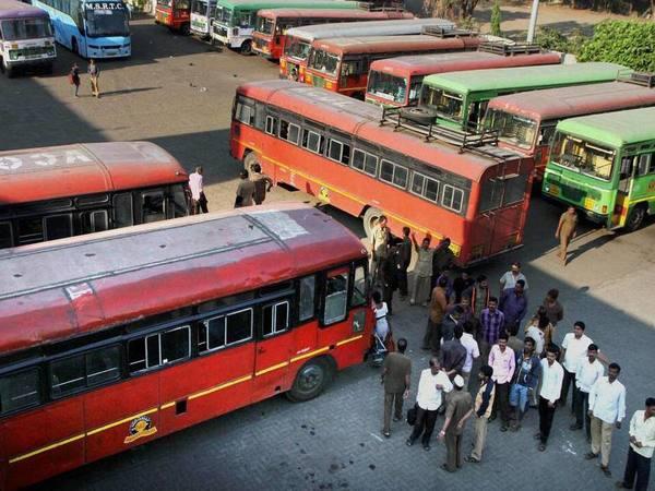 MSRTC  stir ends, buses back on roads in Maharashtra