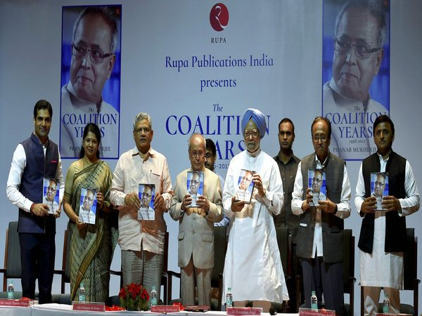 Former president Pranab Mukherjee's book launch function