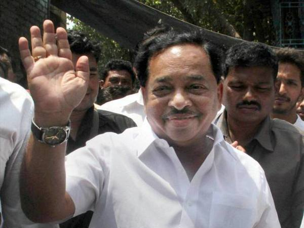 Former chief minister Narayan Rane. PTI file photo