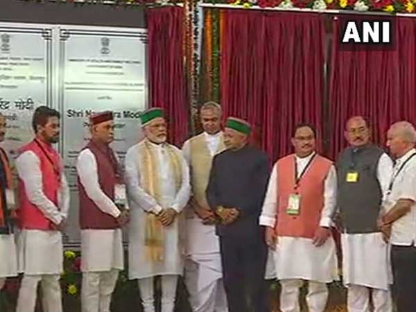 Himachal Pradesh: PM Modi lays foundation stone of AIIMS in Bilaspur
