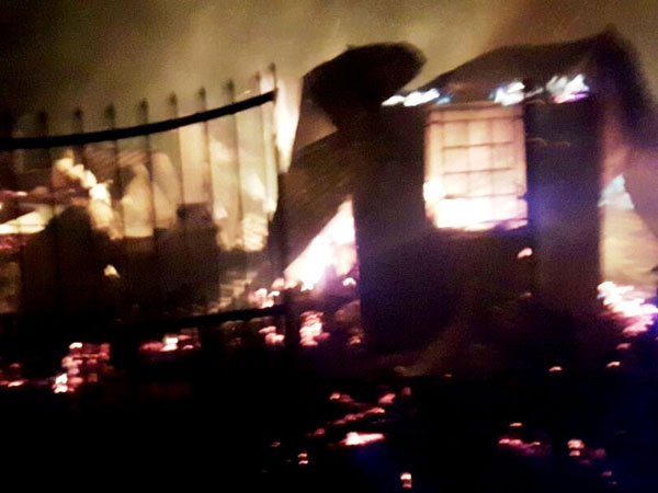 Fire razes 5 houses in Gurung's stronghold Patleybash near Darjeeling