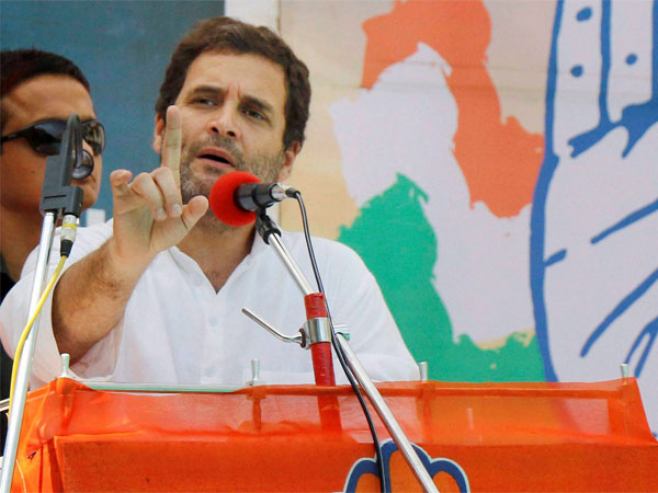 Modi talks about Cong as he has no future plans for Guj: Rahul