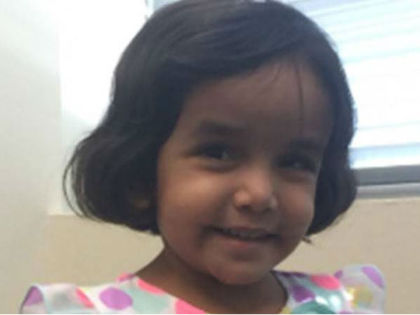Body of Sherin Mathews released by US health officials