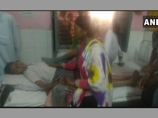Students fall ill after gas leak. Photo credit: ANI