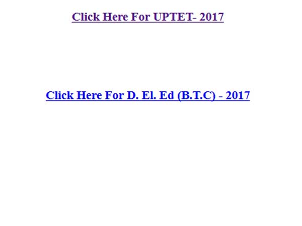 UPTET 2017 Admit Cards released, website crashes: Here are other options