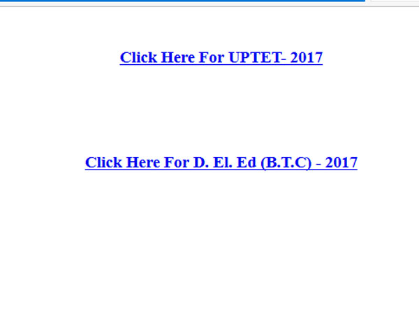 How to download UPTET 2017 Admit Cards, check important dates here