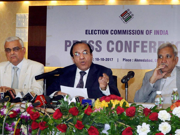 Chief Election Commissioner AK Jyoti.