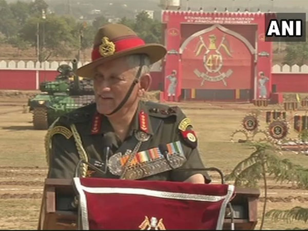Army chief says Situation in Kashmir improving