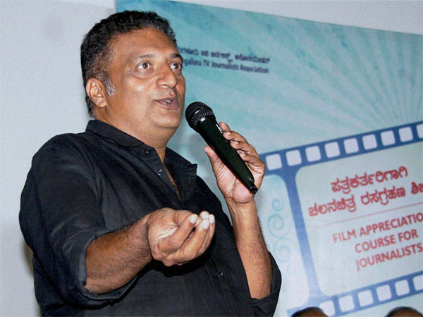 Prakash Raj booked over controversial remarks against PM Narendra Modi
