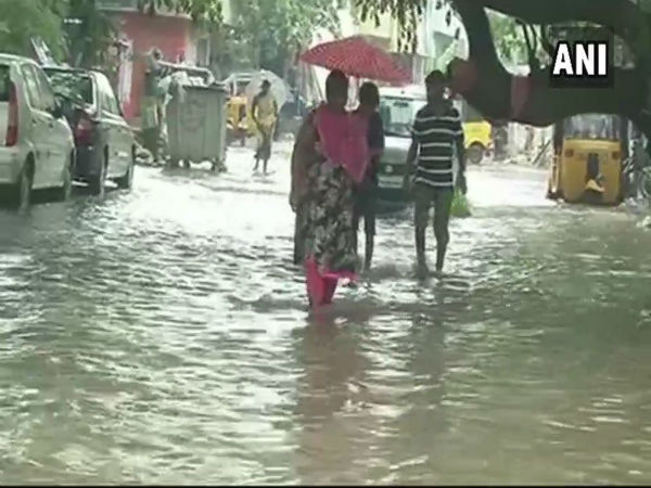 Heavy Rains Lash Parts of Chennai, Waterlogging Reported in Some Areas