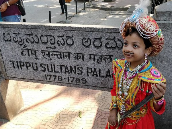 Young Tipu near Tipu Sultan place