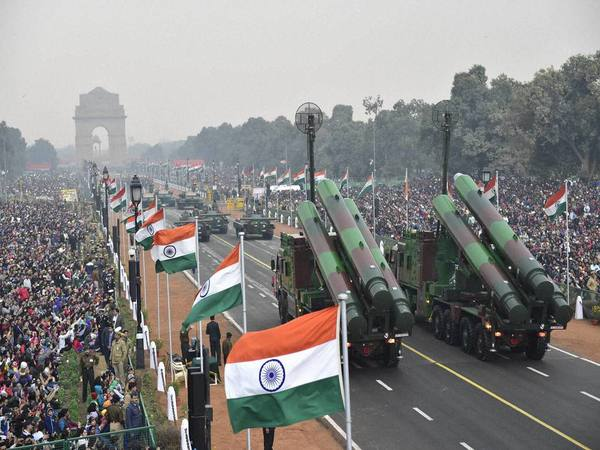 BrahMos at Republic Day parade