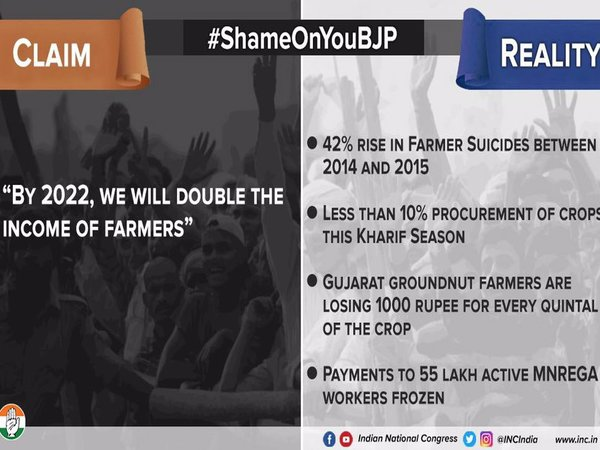 Claim 5: BJP acts in the interest of farmers