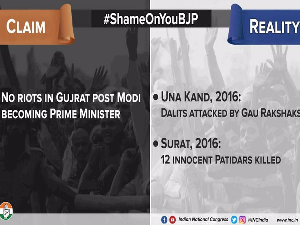 Claim 2: No riots in Gujarat post Mr. Modi becoming Prime Minister