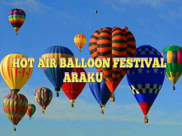 Visakhapatnam Hot Air Balloons Colour Araku Sky Oneindia News