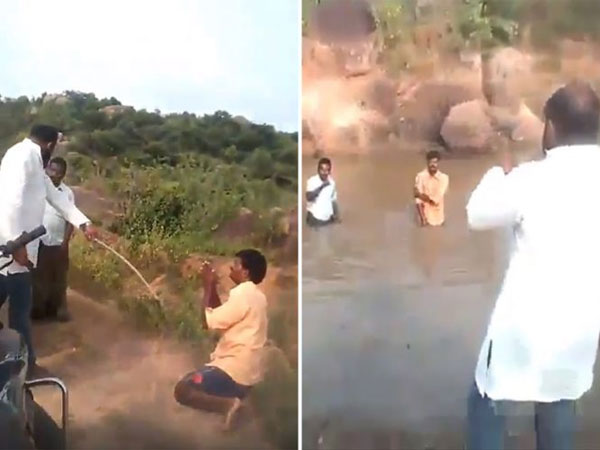 Telangana: BJP leader beats 2 Dalit men, forces them to dip in muddy pond