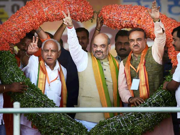 BJP to win 113 seats in Karnataka Assembly Elections says survey