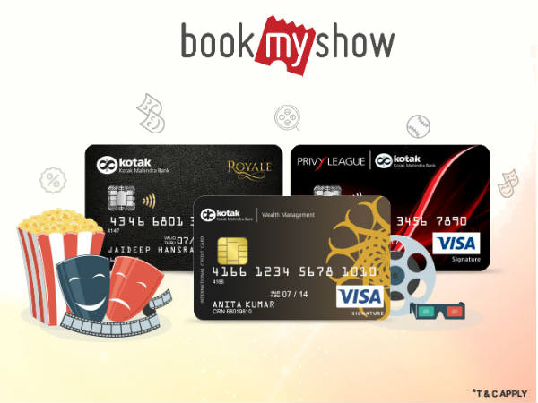BookMyShow: Book Tickets Via 'Debit & Credit Cards' Upto 80% Off*