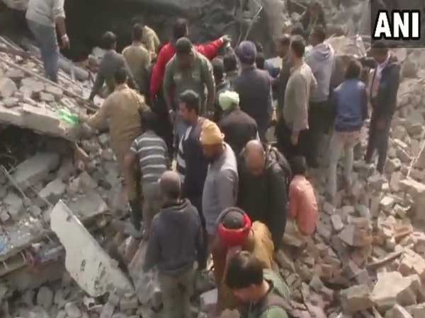Building collapses due to fire at factory in Ludhiana, 8 feared trapped