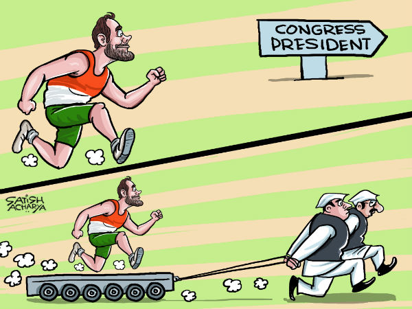 Reports say that the Congress leaders are working overtime to make Rahul Gandhi the party's president ahead of the Gujarat Assembly elections.