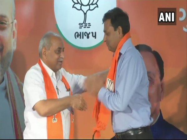 Chirag Patel joins BJP