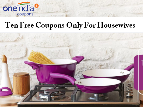 10 Free Coupons Only For Housewives #GoCouponing