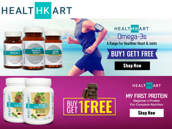 'Lose On Weight, Not on Life' Try The HealthKart Way! 50% Off*