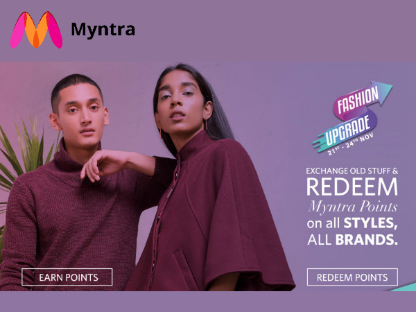 What's Myntra Fashion Upgrade? Extra 10% Off* (Till 24th Nov)