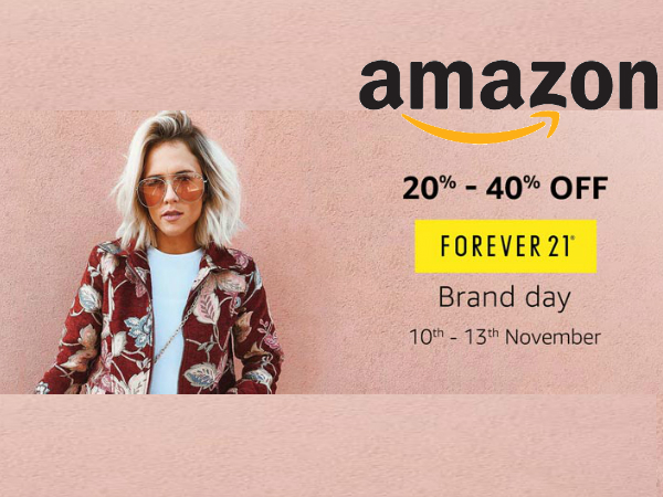 AMAZON FOREVER 21 Brand Day Sale! Get 20% - 40% Off