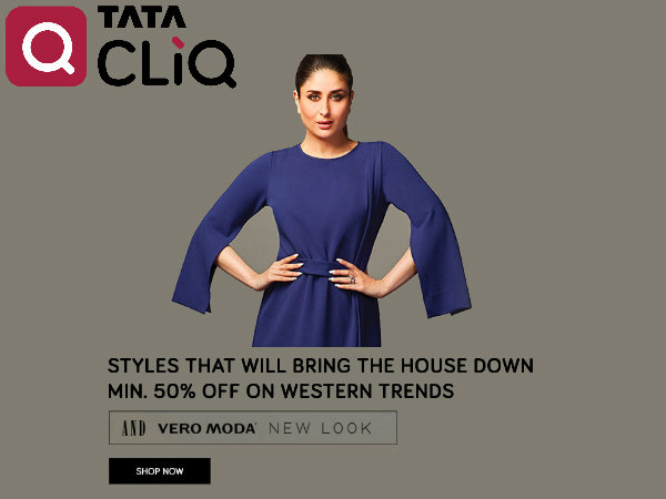 BYE- BYE NOVEMBER SALE! Switch Brands, Click TataCliq Upto 80% Off*