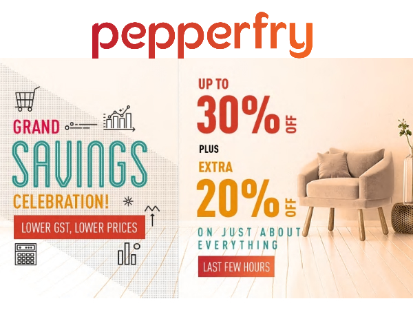 Pepperfry: 10 Must-Haves For Your House (Year End Clearance)