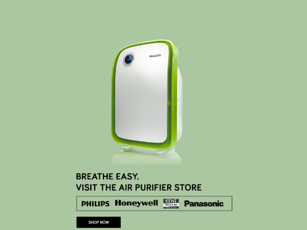 I Want To Breath Free Sale! Air Purifiers With 50% Off*