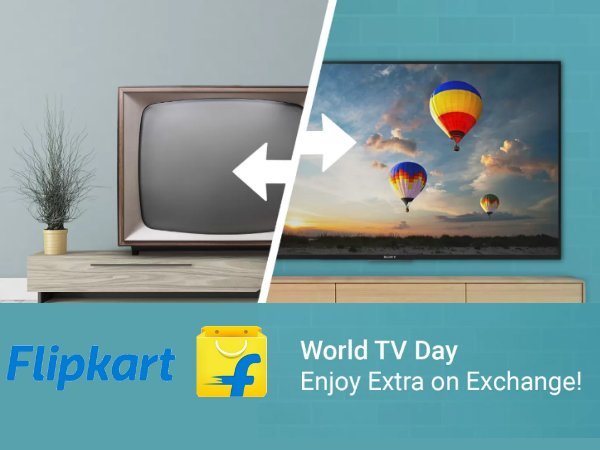 The World TV Day Carnival! Grab Upto Rs. 27,000 Off* on Exchange