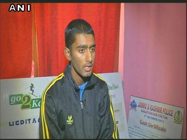22-year-old athlete from Srinagar completes 110 km in 10 hours 45 minutes