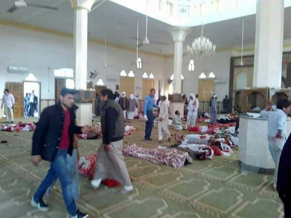 Egypt: 235 killed,109 injured in mosque attack in North Sinai