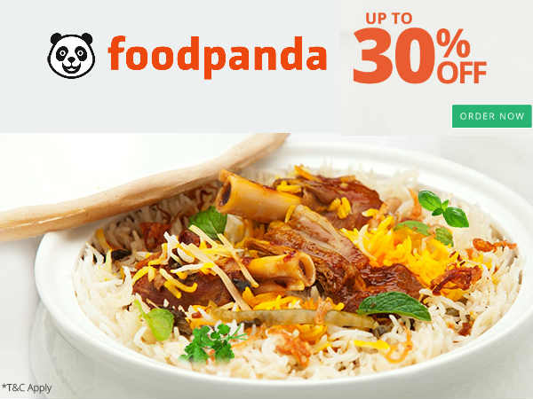 A Taste Better Than Ever: Foodpanda, Flat Rs. 100 Off*
