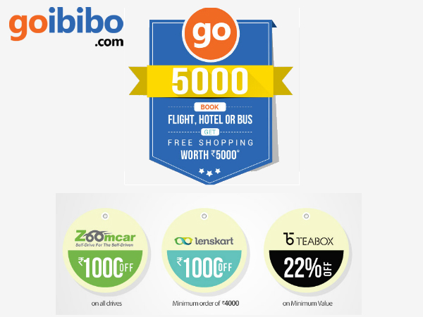 Go To GOIBIBO - Get FREE Vouchers WORTH Rs. 5000*